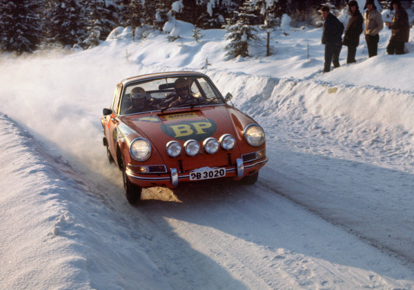 Swedish Rally. Karlstad, Sweden. 11th - 15th February 1970.