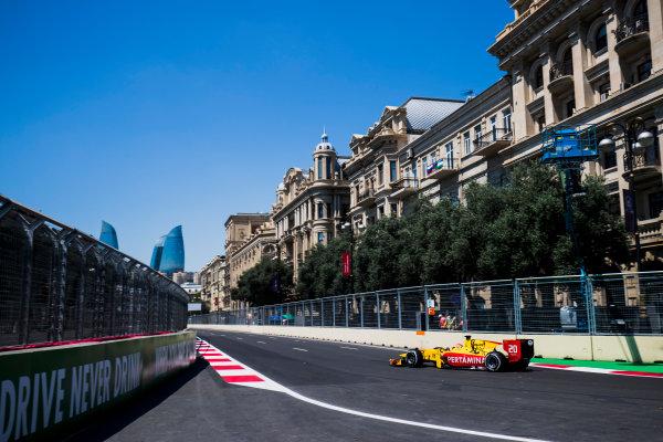 2017 FIA Formula 2 Round 4. Baku City Circuit, Baku, Azerbaijan. Friday 23 June 2017. Norman Nato (FRA, Pertamina Arden)  Photo: Zak Mauger/FIA Formula 2. ref: Digital Image _54I9377