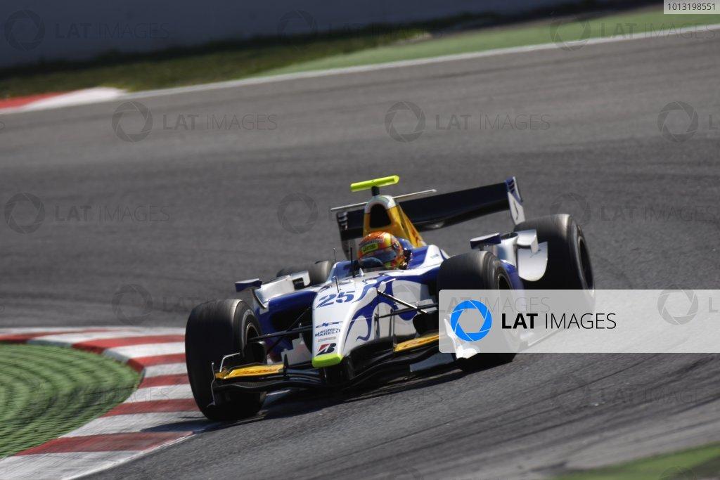 2008 GP2 Series. Round 1. Sunday Race.Barcelona, Spain. 27th April 2008Diego Nunes (BRA, David Price Racing). Action. World Copyright: Glenn Dunbar/GP2 Series Media Service.ref:__O9T6786 jpg