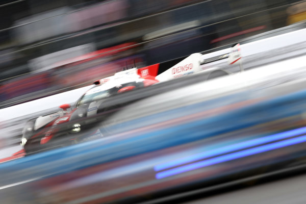 2016 FIA World Endurance Championship, Mexico City, Autodromo Hermanos Rodriguez, 1st-3rd September 2016, Stephane Sarrazin /Mike Conway / Kamui Kobayashi - Toyota TS050 Hybrid World Copyright. Jakob Ebrey/LAT Photographic