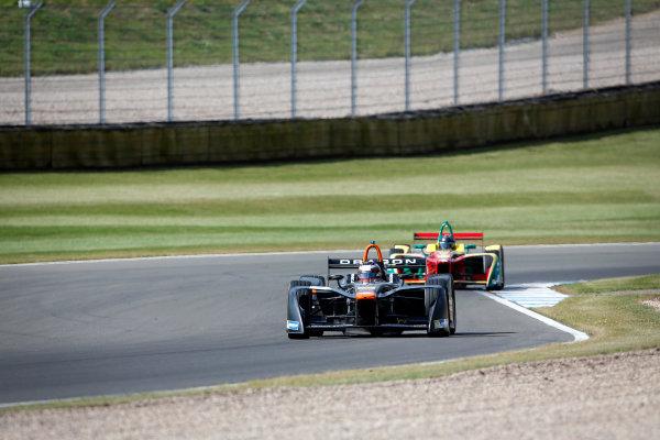 FIA Formula E Season 3 Testing - Day Two. Donington Park Racecourse, Derby, United Kingdom. Jerome d'Ambrosio, Faraday Future Dragon Racing, Spark-Penske. Wednesday 24 August 2016. Photo: Adam Warner / LAT / FE. ref: Digital Image _L5R0410