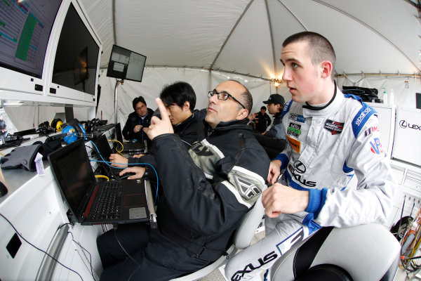 5-8 January, 2017, Daytona Beach, Florida USA Austin Cindric, Lexus Engineer ?2017, Michael L. Levitt LAT Photo USA
