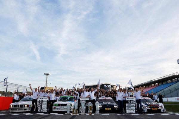 2014 DTM Championship Round 10 - Hockenheim, Germany 17th - 19th October 2014 BMW Championship Celebrations 2014 World Copyright: XPB Images / LAT Photographic  ref: Digital Image 3354545_HiRes