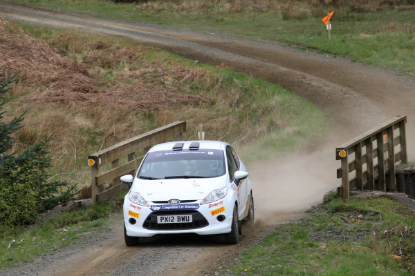 2014 MSA British Rally Championship, Pirelli Carlisle R B Foundation Rally. 3rd - 4th May 2014. Calvin Beattie / Emmet Sherry Ford Fiesta. World Copyright: Ebrey / LAT Photographic.