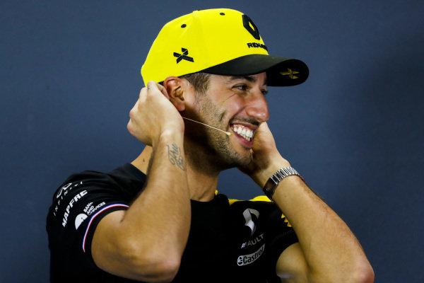 Daniel Ricciardo, Renault F1 Team in Press Conference
