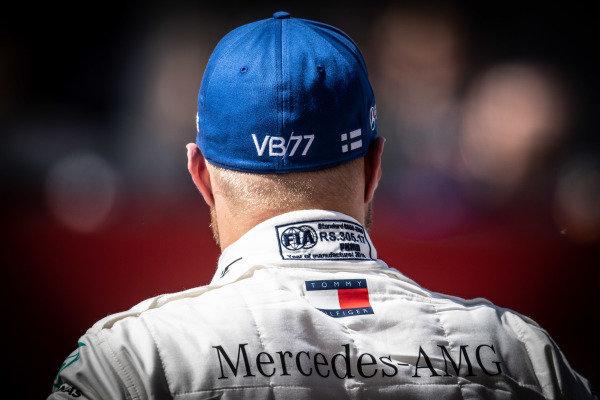 Pole man Valtteri Bottas, Mercedes AMG F1