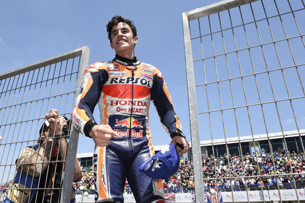 Race winner Marc Marquez, Repsol Honda Team.