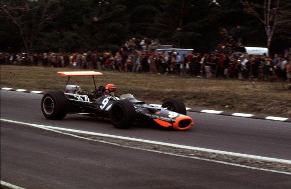 1968 United States Grand Prix.Watkins Glen, New York, USA.4-6 October 1968.Bobby Unser (BRM P138).Ref-68 USA 62.World Copyright - LAT Photographic