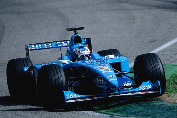 2000 German Grand Prix.Hockenheim, Germany. 28-30 July 2000.Alex Wurz (Benetton B200 Playlife).Ref-2K GER 73.World Copyright - Steven Tee/LAT Photographic
