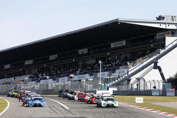 Starting grid.
