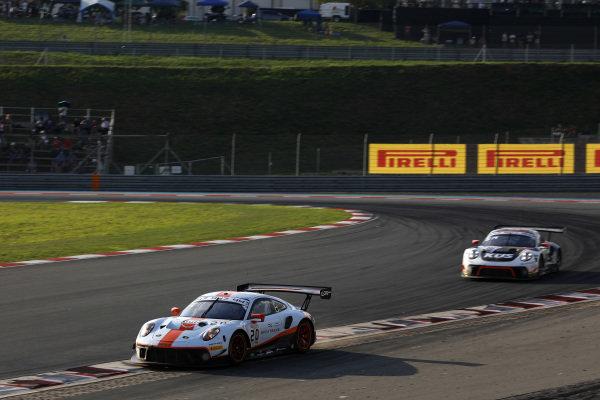 #20 GPX Racing Porsche 911 GT3 R: Richard Lietz, Michael Christensen, Kevin Estre.