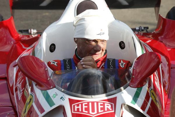 Red Bull Ring, Spielberg, Austria. Saturday 21 June 2014. Niki Lauda, Non-Executive Chairman, Mercedes AMG.  World Copyright: Charles Coates/LAT Photographic. ref: Digital Image _N7T3593