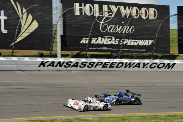6-7 June, 2014, Kansas City, Kansas USA 52, Chevrolet, ORECA FLM09, PC, Frankie Montecalvo, Gunnar Jeannette, 09, Chevrolet, ORECA FLM09, PC, Duncan Ende, Bruno Junqueira ?2014 Scott R LePage  LAT Photo USA