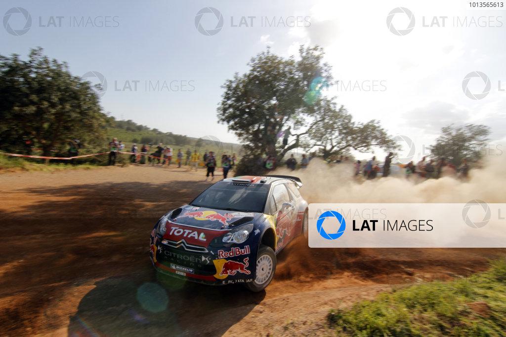 Round 03-Rally Portugal. 23th-27th March 2011.Sebastien Ogier, Citroen WRC, Action.Worldwide Copyright: McKlein/LAT