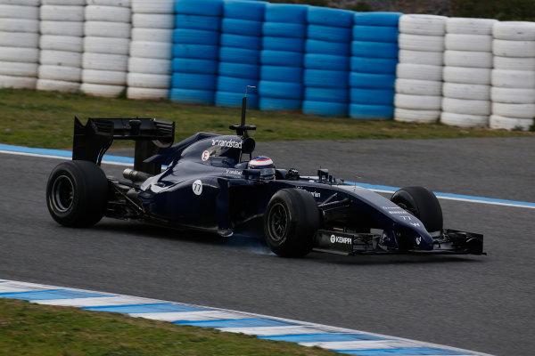 2014 F1 Pre Season Test 1 - Preview Circuito de Jerez, Jerez, Spain. Tuesday 28 January 2014. Valtteri Bottas, Williams FW36 Mercedes. World Copyright: Alastair Staley/LAT Photographic. ref: Digital Image _R6T8764