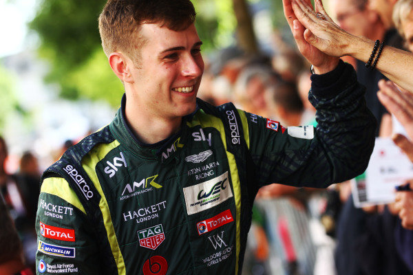 #3 Aston Martin Racing: Ross Gunn