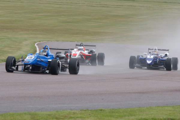 2014 British F3 International Series, Thruxton, England. 16-17 August 2014. Max Marshall (GBR) Double R Racing Dallara Mercedes. World Copyright: Ebrey / LAT Photographic.