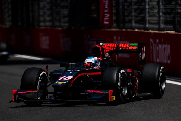 2017 FIA Formula 2 Round 4. Baku City Circuit, Baku, Azerbaijan. Friday 23 June 2017. Nyck De Vries (NED, Rapax)  Photo: Zak Mauger/FIA Formula 2. ref: Digital Image _54I9742