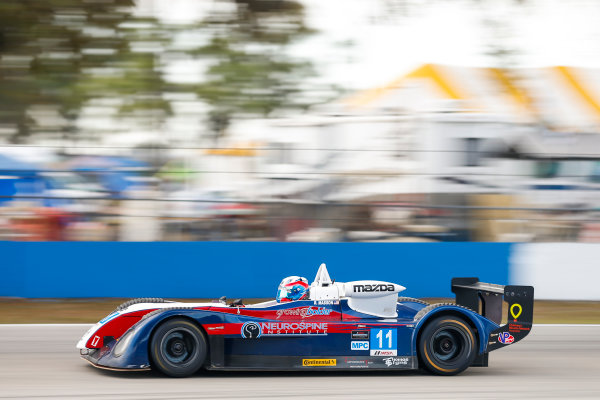 2017 IMSA Prototype Challenge Sebring International Raceway, Sebring, FL USA Friday 17 March 2017 11, Robert Masson, MPC, Elan DP-02 World Copyright: Jake Galstad/LAT Images ref: Digital Image lat-galstad-SIR-0317-14950