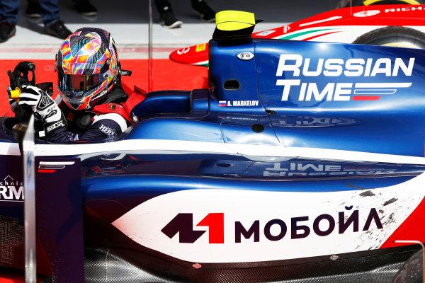 2017 FIA Formula 2 Round 1. Bahrain International Circuit, Sakhir, Bahrain.  Saturday 15 April 2017. Artem Markelov (RUS, RUSSIAN TIME)  Photo: Zak Mauger/FIA Formula 2. ref: Digital Image _W6I0358