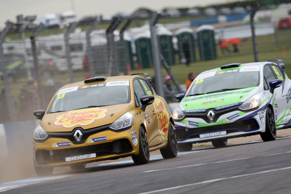2017 Renault Clio Cup, 15th-16th April 2017, Donington Park, Ambrogio Perfetti (ITA) Westbourne Motorsport Renault Clio Cup World Copyright. JEP/LAT Images