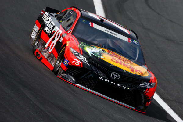 Monster Energy NASCAR Cup Series Coca-Cola 600 Charlotte Motor Speedway, Concord, NC USA Thursday 25 May 2017 Martin Truex Jr, Furniture Row Racing, Bass Pro Shops/TRACKER BOATS Toyota Camry World Copyright: Lesley Ann Miller LAT Images