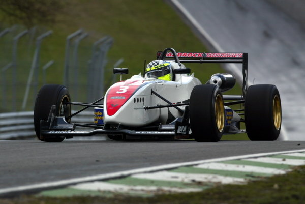 Andrew Thompson (GBR) HiTech Motorsport.British Formula Three Championship, Press day.Brands Hatch, Kent, England. 24th March 2004Digital Image