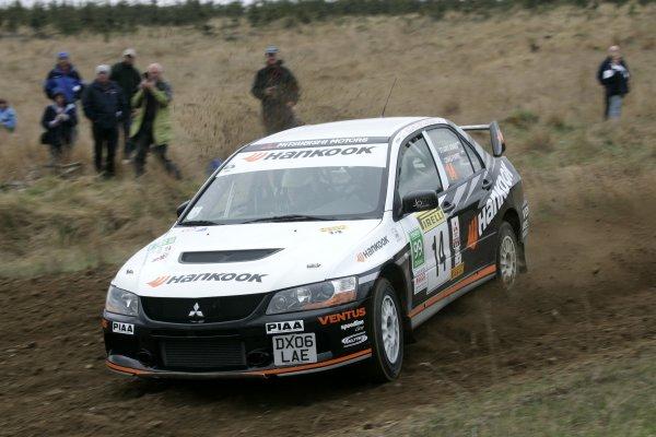 2006 British Rally Championship,Pirelli International Rally, Carlisle 13th-14th May 2006,Stuart Jones, World Copyright: Jakob Ebrey/LAT Photographic.