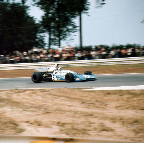 Nurburgring, Germany.28-30 July 1972.Chris Amon (Matra-Simca MS120D).Ref-3/5126H.World Copyright - LAT Photographic