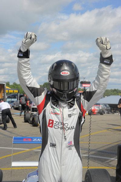 11-14 August, 2016, Lexington, Ohio USA Race #3 winner Cameron Das ©2016 Dan R. Boyd LAT Photo USA