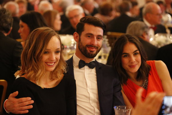 2016 FIA Prize Giving Vienna, Austria Friday 2nd December 2016 Jose Maria Lopez with his wife and another guest. Photo: Copyright Free FOR EDITORIAL USE ONLY. Mandatory Credit: FIA ref: 30557877514_c4669611cf_o