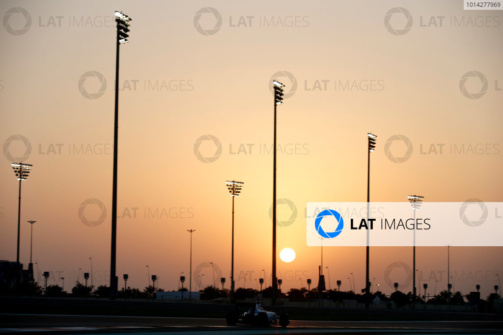 Yas Marina Circuit, Abu Dhabi, United Arab Emirates. Wednesday 26 November 2014. Felipe Nasr, Williams FW36 Mercedes. World Copyright: Glenn Dunbar/LAT Photographic. ref: Digital Image _W2Q8638