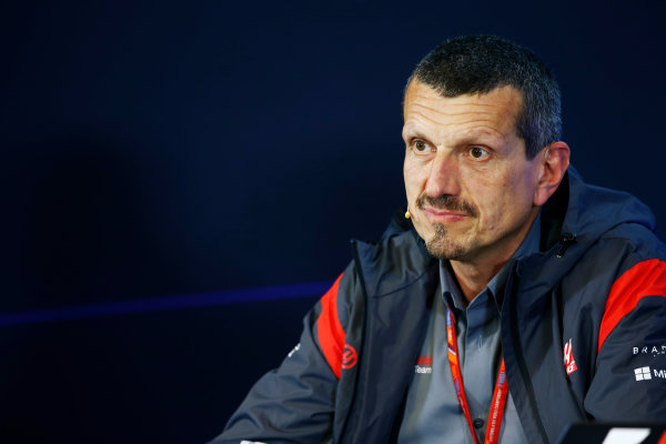 Spa Francorchamps, Belgium.  Friday 25 August 2017. Guenther Steiner, Team Principal, Haas F1, in the Team Principals Press Conference. World Copyright: Andy Hone/LAT Images  ref: Digital Image _ONZ9438