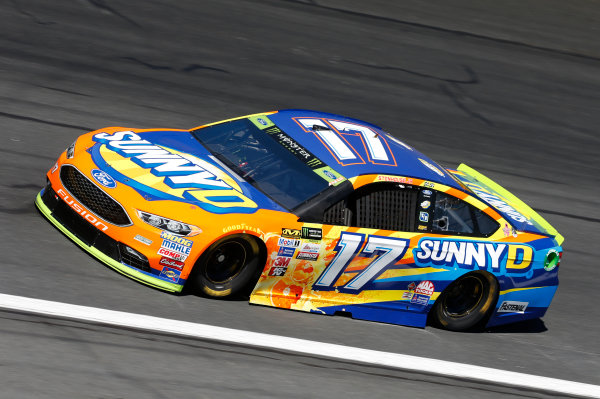 Monster Energy NASCAR Cup Series Bank of America 500 Charlotte Motor Speedway, Concord, NC Friday 6 October 2017 Ricky Stenhouse Jr, Roush Fenway Racing, Ford Fusion World Copyright: Matthew T. Thacker LAT Images