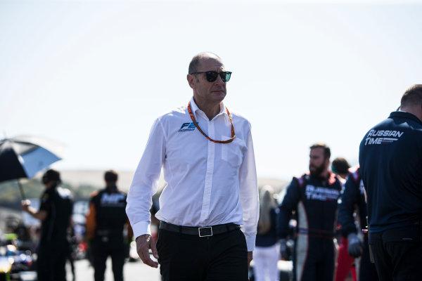 2017 FIA Formula 2 Round 10. Circuito de Jerez, Jerez, Spain. Sunday 8 October 2017. Bruno Michel. Photo: Andrew Ferraro/FIA Formula 2. ref: Digital Image _FER3173