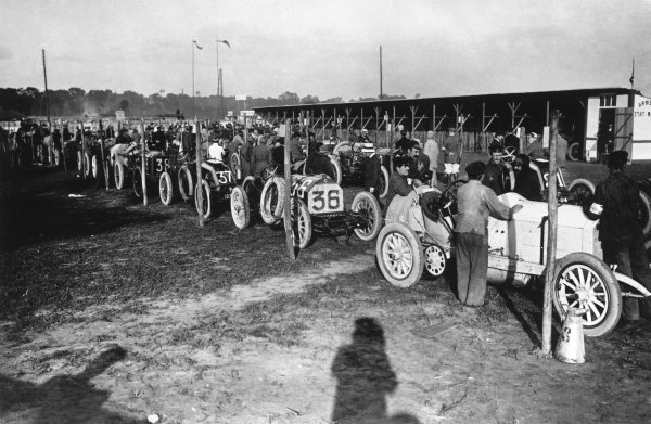 Dieppe, France. 7th July 1908.