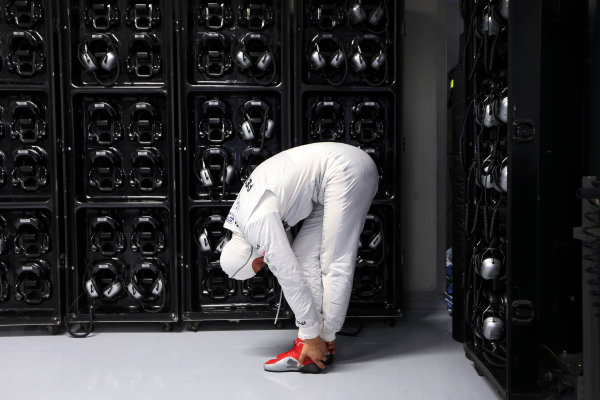 Autodromo Nazionale di Monza, Monza, Italy. 7th September 2012. Michael Schumacher, Mercedes AMG.  World Copyright: Steve Etherington/LAT Photographic ref: Digital Image SNE14381 copy