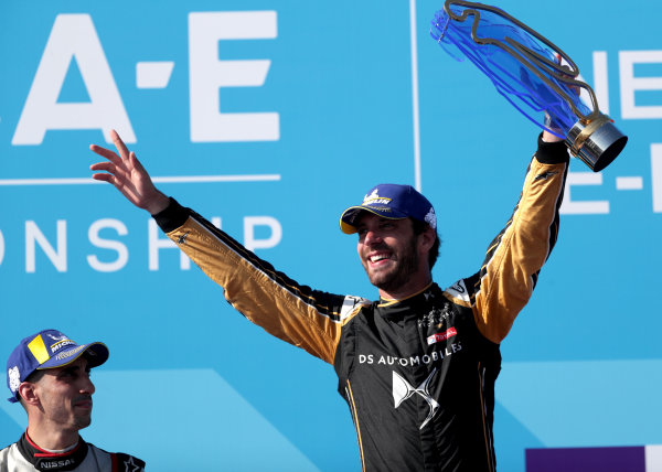 Formula E champion Jean-Eric Vergne (FRA), DS TECHEETAH on the podium
