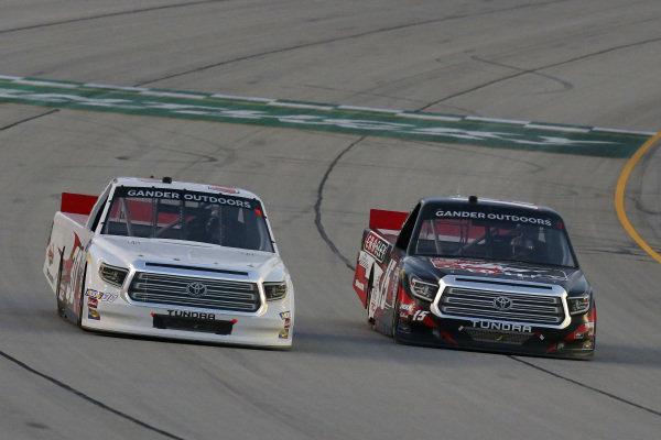 #15: Dylan Lupton, DGR-Crosley, Toyota Tundra Crosley and #30: Brennan Poole, On Point Motorsports, Toyota Tundra