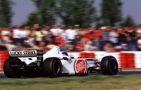 2001 Spanish Grand PrixCatalunya, Barcelona, Spain. 27-29 April 2001.Jacques Villeneuve (B.A R. 003 Honda).World Copyright - LAT Photographicref: 35mm Image