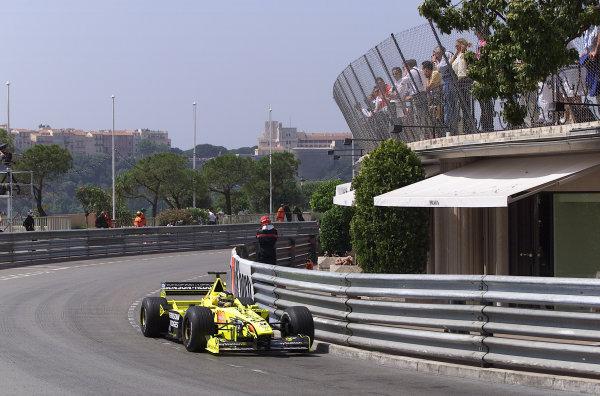2000 Monaco Grand Prix.Monte Carlo, Monaco.1-4 June 2000.Heinz-Harald Frentzen (Jordan EJ10 Mugen Honda).World Copyright - LAT Photographic
