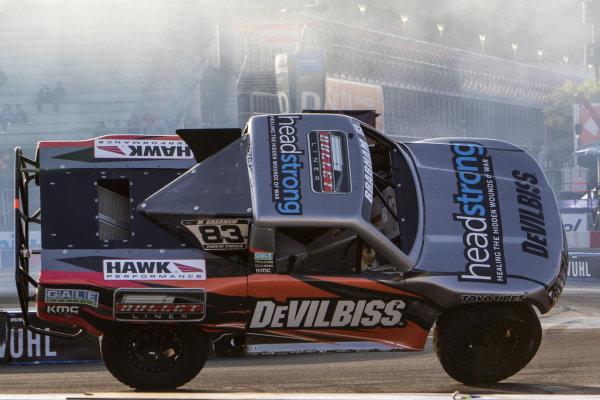 Stadium Super Truck race action on Sunday 20 January 2019 at Foro Sol, Mexico City, Mexico
