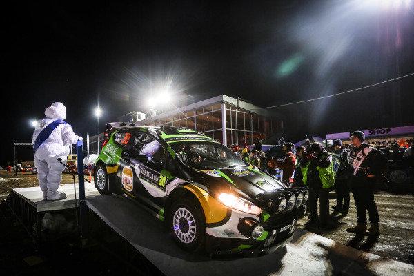 Yazeed Al Rajhi (KSA) / Michael Orr (IRL), Yazeed Racing Ford Fiesta RS WRC at World Rally Championship, Rd2, Rally Sweden, Preparations, Karlstad, Sweden, 11 February 2016.