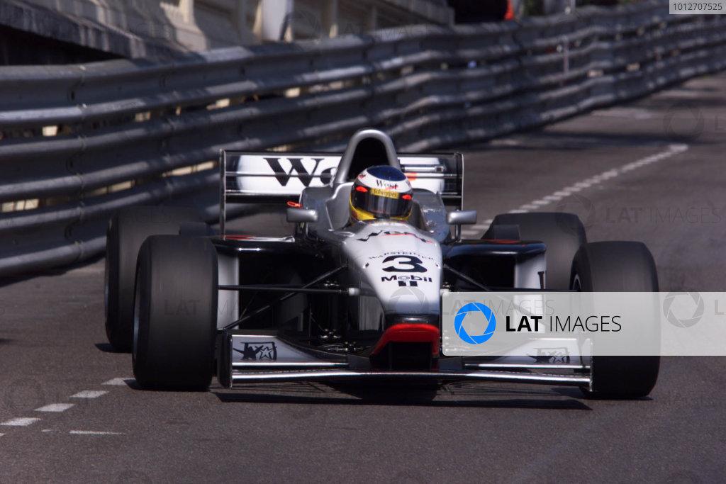 Monte Carlo, Monaco. 13th May 1999. Rd 2. Nick Heidfeld (Lola B99/50-Zytek V8), retired, action. World Copyright: LAT Photographic.