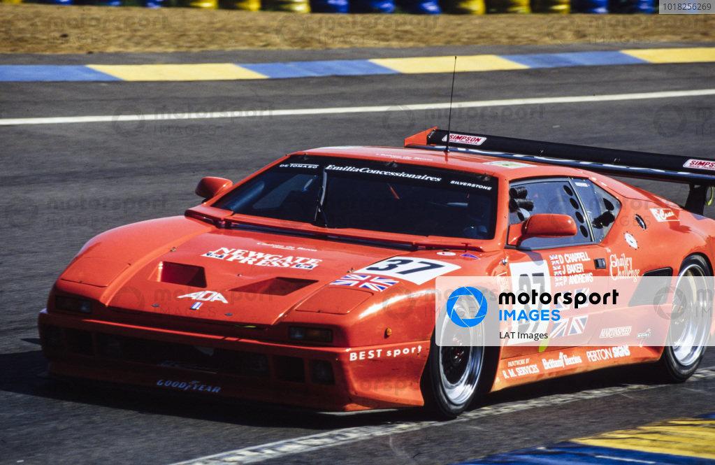 Dominic Chappell / Jonathan Baker / Phil Andrews, ADA Engineering Ltd, De Tomaso Pantera 200 Ford.
