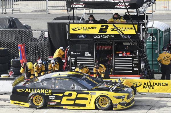 #2: Brad Keselowski, Team Penske, Ford Mustang Western Star/Alliance Parts