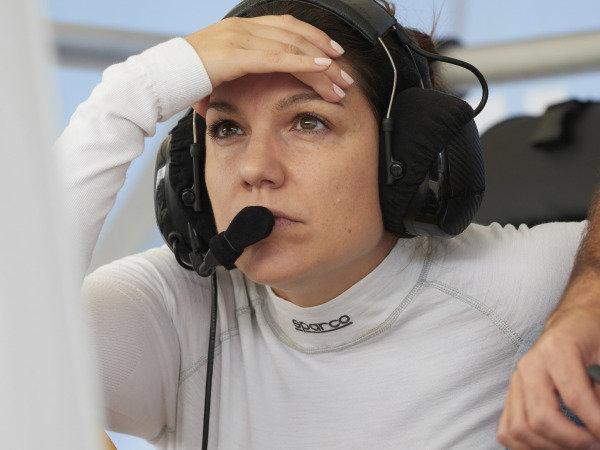 #57 Heinricher Racing w/Meyer Shank Racing Acura NSX GT3, GTD: Katherine Legge