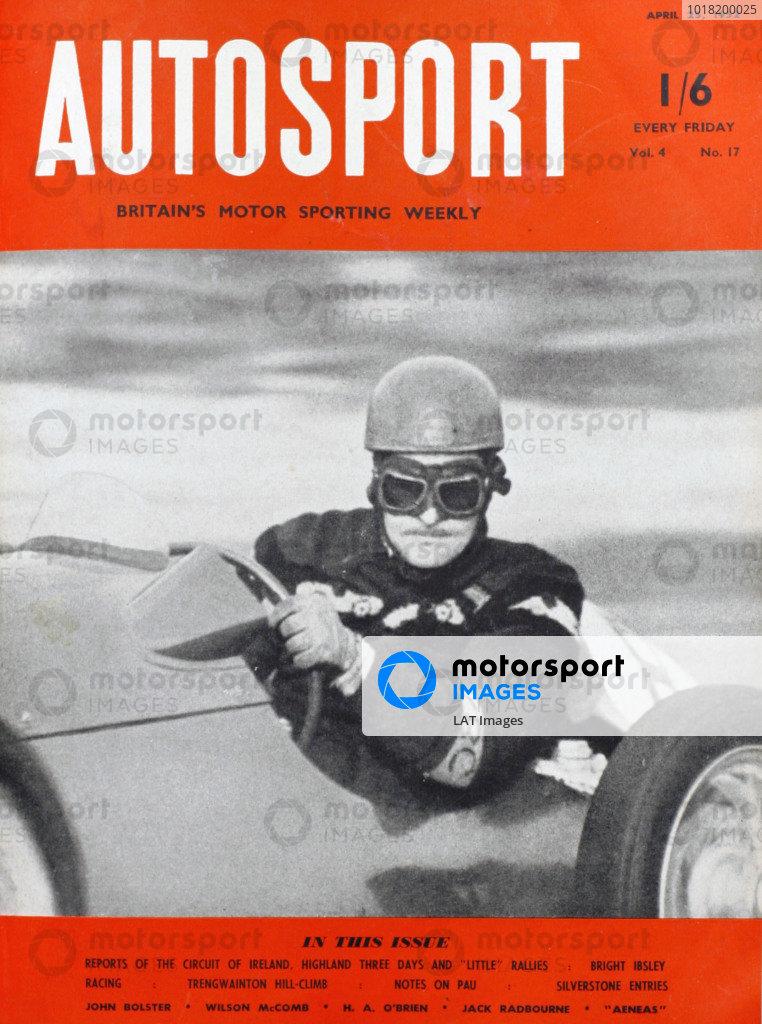 Cover of Autosport magazine, 25th April 1952