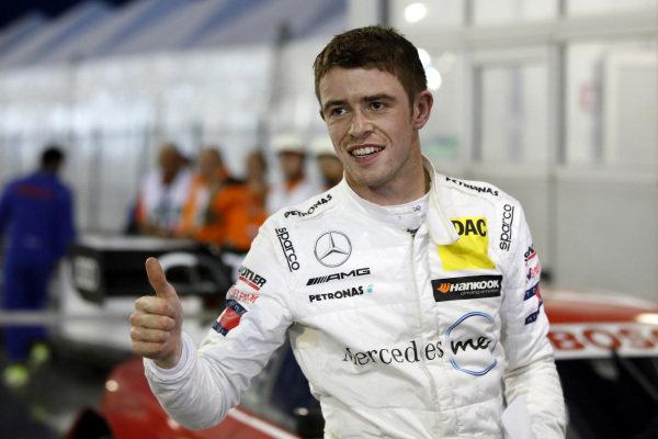 Pole sitter Paul Di Resta, Mercedes-AMG Team HWA