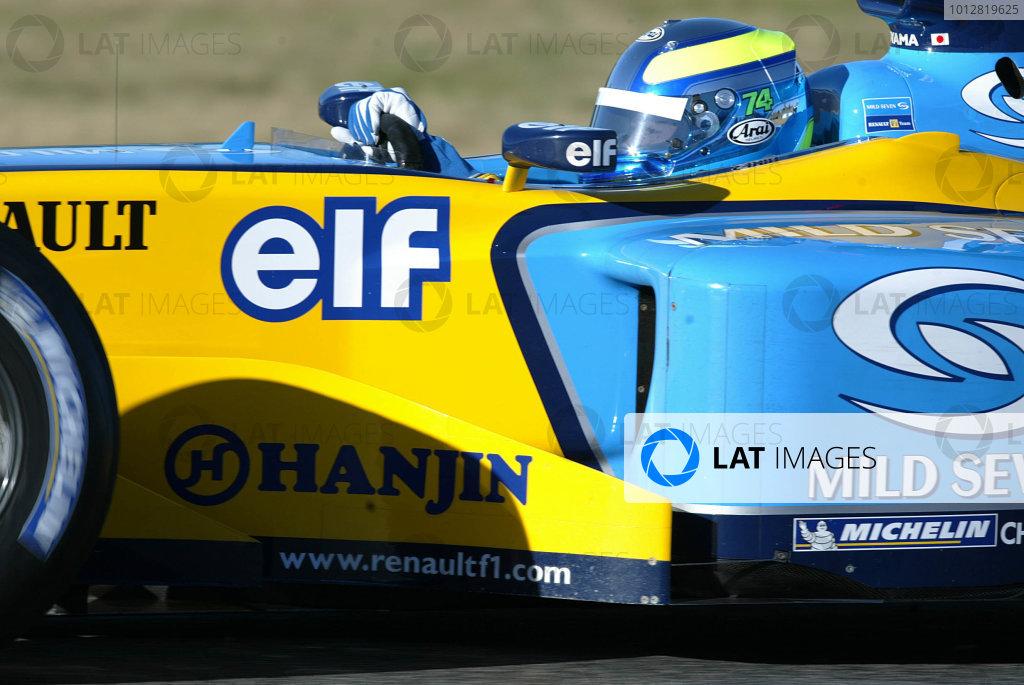 2003 Formula One Testing.